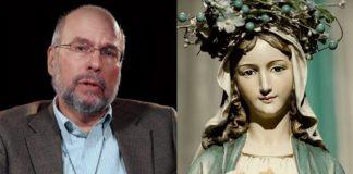 professor ateu e a virgem maria